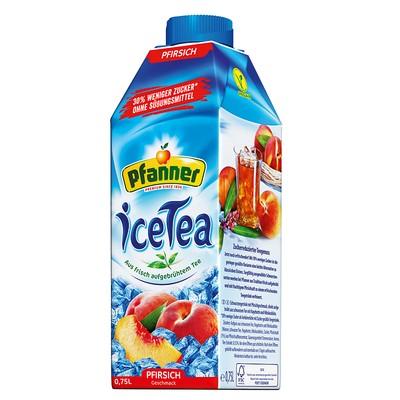 Pfanner Ice Tea Pfirsich 0,75L