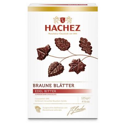 Hachez Braune Blätter edel-bitter 125g
