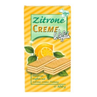 Cremewaffeln Zitrone 100g