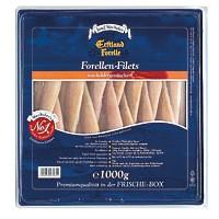 Forellen Filets heiß geräuchert unter Buchenholz 1kg