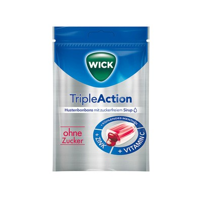 Wick Triple Action 72g