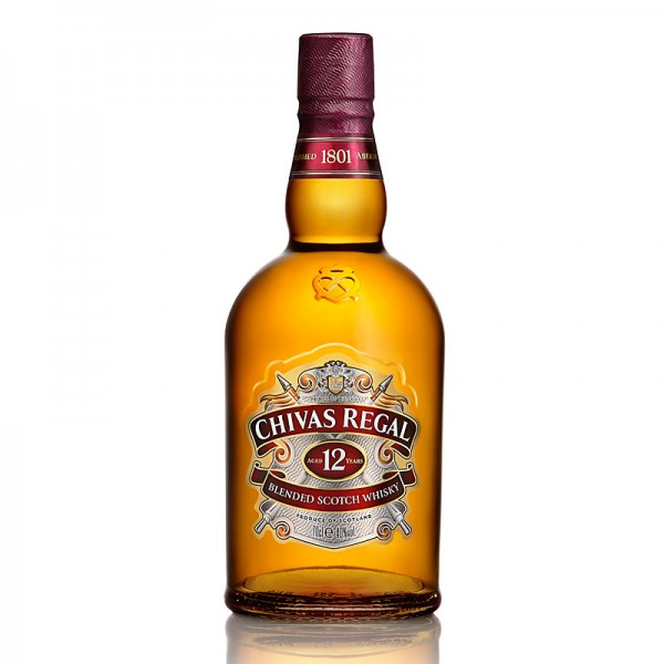 Chivas Regal Blended Scotch Whisky aged 12 years 40% 1L