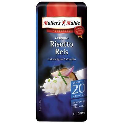 Müller's Mühle Arborio Risotto Reis 1kg