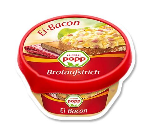 Popp Brotaufstrich Ei-Bacon 150g
