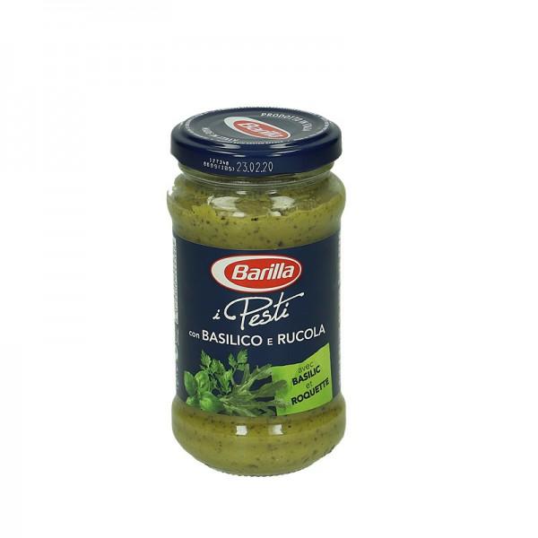 Barilla Pesto mit Basilikum und Rucola 190g