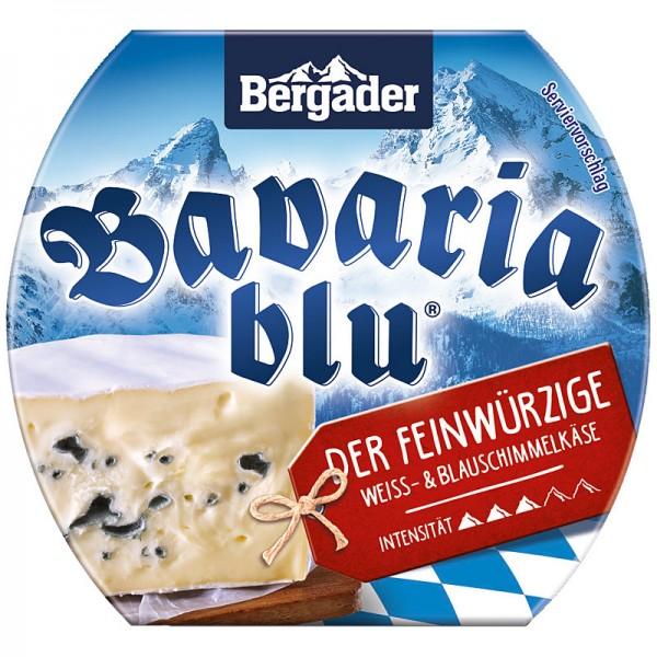 Bavaria blu Der Feinwürzige Weiss- und Blauschimmelkäse Minitorte 70% 150g