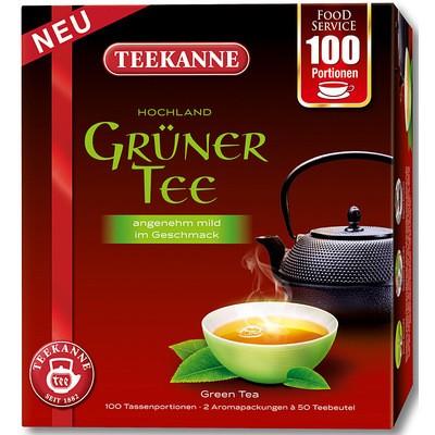 Teekanne Grüner Tee 100x1,5g