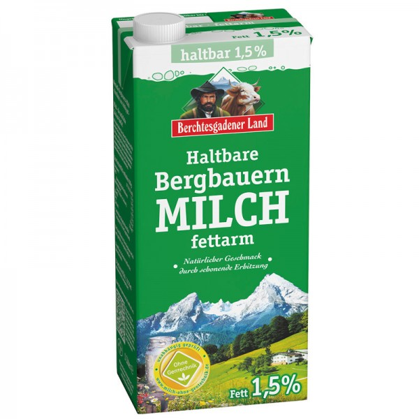 Berchtesgadener H-Milch 1,5% 1L