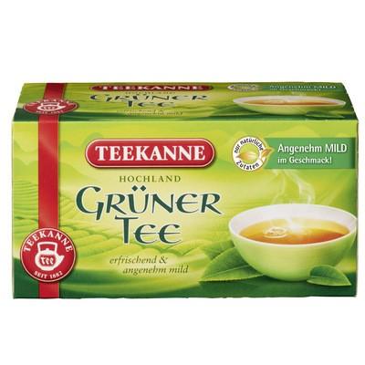 Teekanne Grüner Tee 20x1,75g