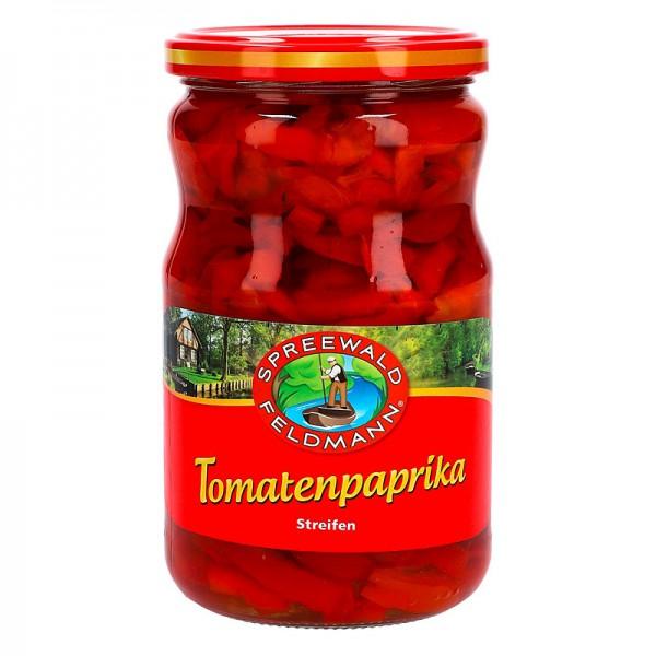 Spreewald Feldmann Tomatenpaprika in Streifen 320g