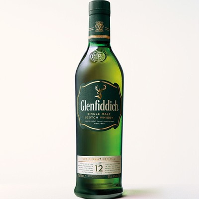 Glenfiddich Single Malt Scotch Whisky aged 12 years 40% 0,7L