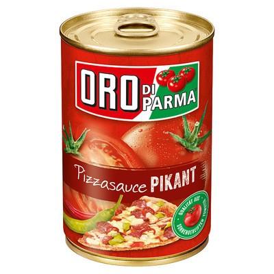 Oro di Parma Pizza Sauce Pikant 425ml