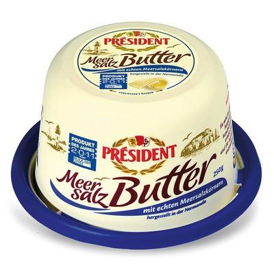 Président Meersalz Butter 250g