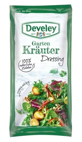 Develey Garten Kräuter Salat Dressing 75ml