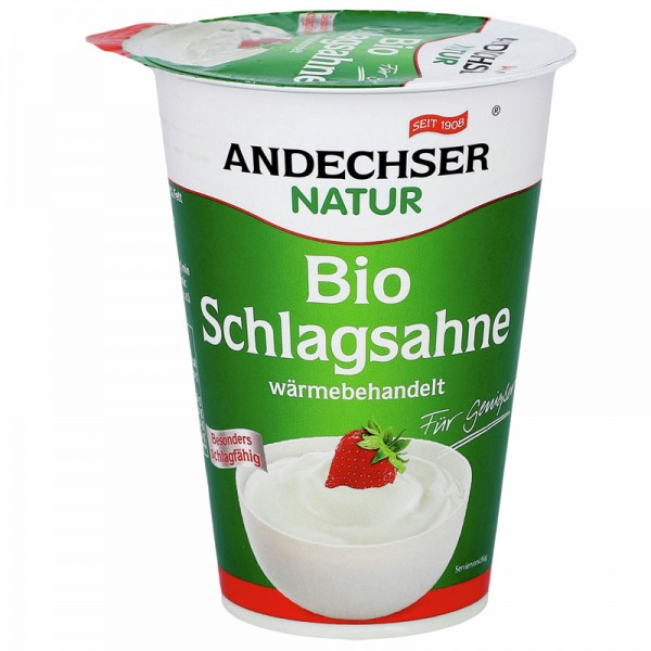 Andechser Bio Schlagsahne 32% 200g