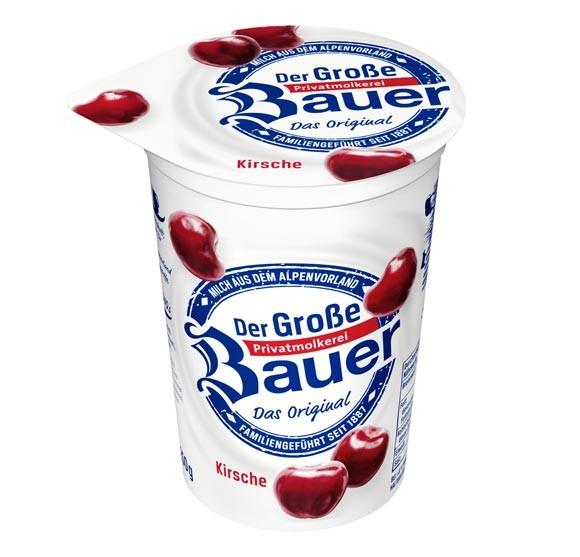 Der Große Bauer Kirsche Joghurt 250g