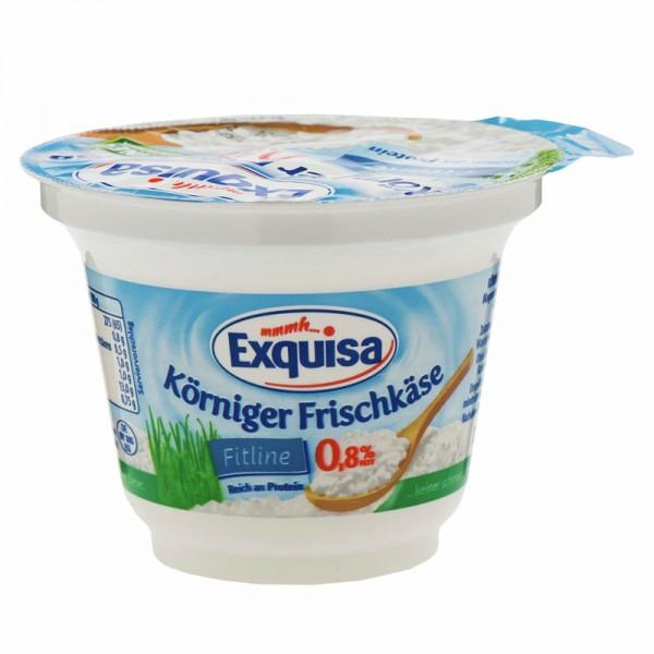 Exquisa Körniger Frischkäse, 0,8% Fett, 200g
