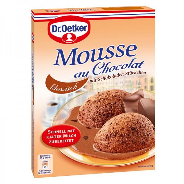Dr. Oetker Mousse au Chocolat Klassisch 92g