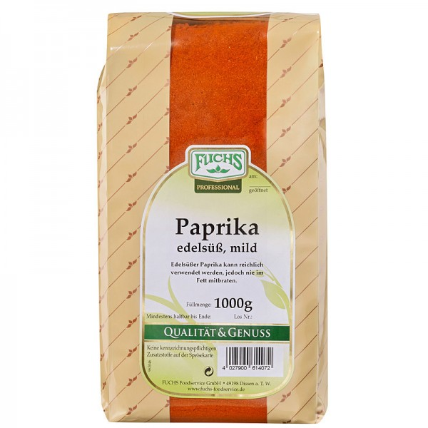 FUCHS Paprika Edelsüß 1kg