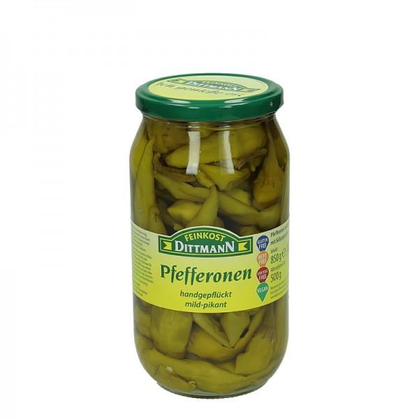 Dittmann Pfefferonen mild-pikant 500g