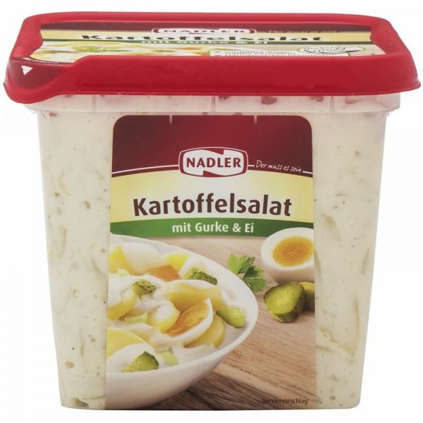 Nadler Kartoffelsalat mit Gurke und Ei 1kg