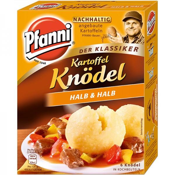 Pfanni Kartoffelknödel Halb & Halb 6St