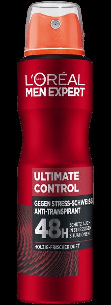 Loreal MEN Deo Spray Ultimate Control, 48H, 150ml