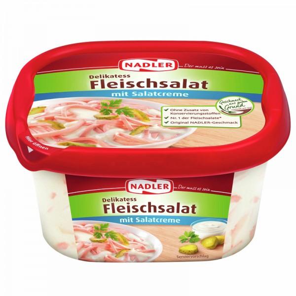 Nadler Fleischsalat mit Salatcreme 400g