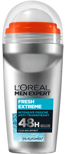 Loreal MEN Deo Roll-On Fresh Extreme, 48H, 50ml