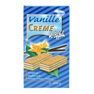 Cremewaffeln Vanille 100g