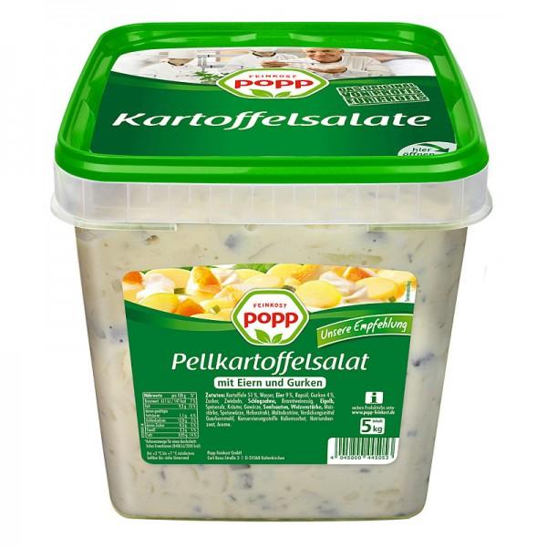 Popp Pellkartoffelsalat mit Eiern und Gurke XXL 5kg