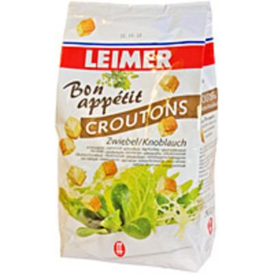 Leimer Bon appétit Croutons Zwiebel / Knoblauch 500g