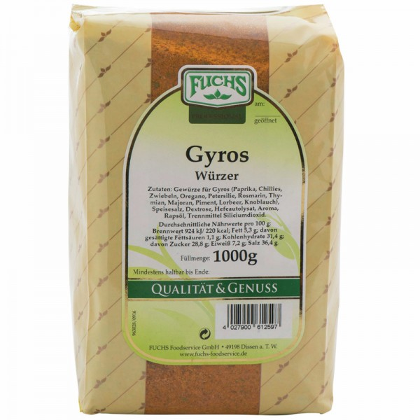 FUCHS Gyros Würzmischung 1kg